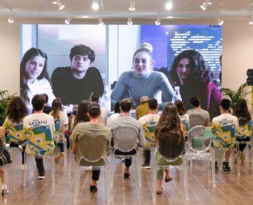 Next Gen 2020 - Day 3 - La proiezione del trailer di YouArt